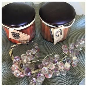 Two Scented Jar Candles